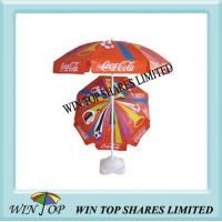 Buy cheap coca cola promotion beach umbrella from wholesalers