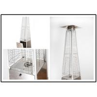 Wholesale Tall Quartz Glass Tube Patio Heater , Powder Coated / Stainless Steel Gas Patio Heater from china suppliers