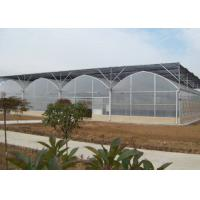 Buy cheap Polycarbonate Plastic Film Greenhouse Bright Interior With Shading Net System from wholesalers