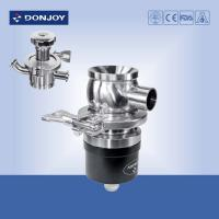 Buy cheap SS304 / 316 Pneumatic bottom tank valve with Plastic Actuator Welding Ends from wholesalers