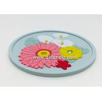 Wholesale OEM Wholesale Custom Soft Rubber PVC Coaster for promotional gifts from china suppliers