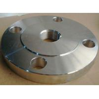 Buy cheap ASME B16.5 Threaded Flange For Connecting Pipes / Threaded Pipe Flange from wholesalers