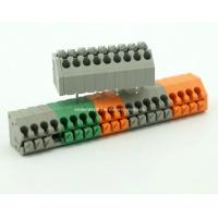 Buy cheap PCB Screwless Terminal Block Connector DG250 Pitch: 2.50/3.50mm from wholesalers
