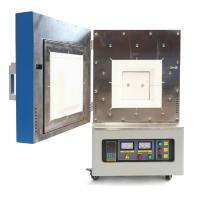 Buy cheap Desktop 1400C Laboratory Electric Oven , PID Control Scientific Muffle Furnace Fast Heating from wholesalers