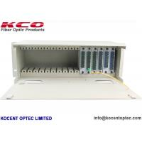 Buy cheap Rack Mountable Fiber Optic Audio Splitter ODF Patch Panel 1*2 1*4 1*8 1*16 1*32 LGX Type from wholesalers