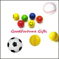 Buy cheap Printed logo PU Stress Ball Reliever promotion gift from wholesalers