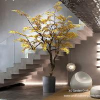 Buy cheap Autumn Style Artificial Maple Tree Japanese Hotel Coffee Shop Decoration from wholesalers