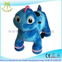 Wholesale Hansel high qulity battery operated plush motorized animal kids ride from china suppliers