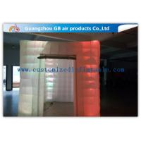 Buy cheap Cool Portable Cube Led Photo Booth Inflatable Decorative Lighting UV Resistant from wholesalers