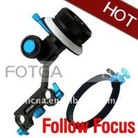 Buy cheap Fotga DP500 System DSLR Follow focus FF for 15mm Rod Support HDSLR HDV for 5D II 7D 600D from wholesalers