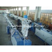 Buy cheap reliable supplier pe water pipe machine extrusion line production made in China for sale from wholesalers