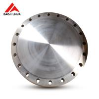 "Wholesale GR2 30"" Titanium Blind Flange , Light Weight Titanium Forged Flange from china suppliers"
