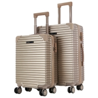 """Wholesale 20"""" ODM ABS Carry On Trolley Luggage With Push Button from china suppliers"""