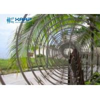 Buy cheap Electro Galvanized Core Razor Barbed Wire , Razor Blade Fencing Wire 12mm Length from wholesalers