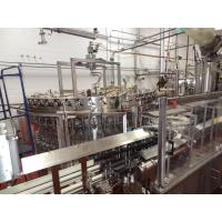 Buy cheap Stainless Steel Carbonated Beverage Production Line For Soft Drink / Soda Water from wholesalers