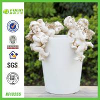 Buy cheap Angel Decorative Resin Flower Pot Hanger from wholesalers