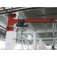Buy cheap 3T Wall Travelling Jib Crane Price Foundation With Trade Assurance from wholesalers