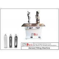Wholesale Electronic Control Aerosol Filling Machine , Bag On Valve Filling Machine from china suppliers