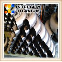 Buy cheap Factory sell 30 45 60 90 180 degree Gr2 titanium elbow from wholesalers