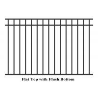 Buy cheap flat top pool fencing Flat Top Pool Fencing from wholesalers