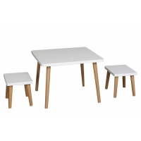 Buy cheap 60cm Width 30kg Childrens Table And Chairs Set from wholesalers