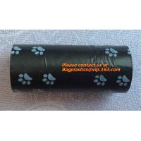Buy cheap Breathable Eco-Friendly Pet Waste Poop Bag, Pet Garbage Bags With Dispenser / Pet Waste Bags / Dog Puppy Poop Collector from wholesalers