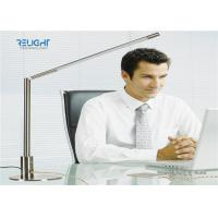 Buy cheap Silver Metal Switch Dismontable Desk Lamp with 360 ° Rotation Metal Body Two USB Charging Ports from wholesalers