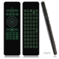 Wholesale Wireless Air Mouse Backlight Keyboard Remote Control For Smart Android TV Mini PC from china suppliers