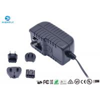Buy cheap 18V 1A Interchangeable Plug Power Adapter Power Supply With UL CE GS Certificati product