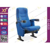 Buy cheap Fireproof Gravity Retune Cinema Style Chairs Fold Up Cup Holder For Music Theatre from wholesalers