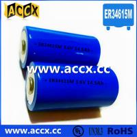 Wholesale Primary Lithium/ER Battery with 3.6V Voltage and 19Ah Capacity er34615 from china suppliers