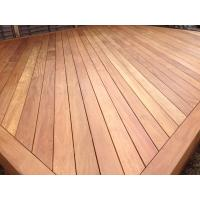 Buy cheap smooth natural exotic teak terrace wood decking from wholesalers