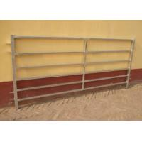 Buy cheap Durable Heavy Duty Cattle Yard Panels Abrasion Resistant Steel Materials from wholesalers