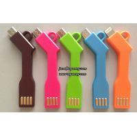 Buy cheap KeyChain Micro USB Cable Charger Data Sync Key chain Charging Micro USB Cable Cord Line from wholesalers
