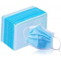 Wholesale Breathable 3 Ply Non Woven Face Mask Bfe 95 - 99.9 High Efficient Filtration from china suppliers
