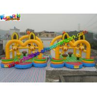 Buy cheap Cat Inflatable Commercial Bouncy Castles / Inflatable Jumping House Waterproof from wholesalers
