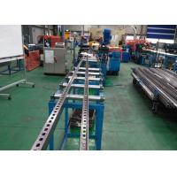 Buy cheap C Slotted Strut Channel Roll Forming Equipment Speed 10 m/Min With Serration from wholesalers