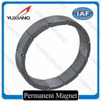 Buy cheap N40SH Segment Neodymium Arc Magnets Sintered Technology Zn Coating ISO9001 from wholesalers