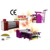 Buy cheap rotary calander heat press printing machine roller sublimation calander transfer machine from wholesalers