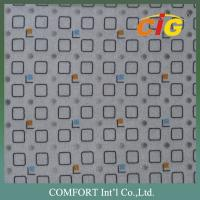Embossed car upholstery fabric 220GSM X 150CM / automotive interior fabric Manufactures