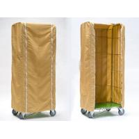 Buy cheap Light Duty Roll Container Cover Weather Proof Customized Size PE Material from wholesalers