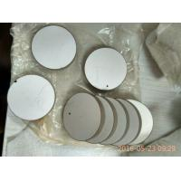 Buy cheap Round 38x6mm Electrode Ultrasonic Beauty Piezoelectric Ceramic Plate from wholesalers