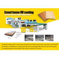 Buy cheap Wood Veneer Sheet UV Coating Processing Machine Production Line CE Certification from wholesalers