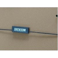 Buy cheap Coloful Garment Seal Tags , Plastic Hang Tag Cord Lock Customized Shaped from wholesalers