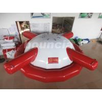 Buy cheap Commercial Grade PVC Tarpaulin Inflatable Saturn Rocker For Water Games from wholesalers