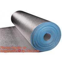Buy cheap Aluminum foil coated with 3mm EPE foam for thermal insulation,Thermal break foil covered foam insulation board,bagease from wholesalers