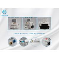 Buy cheap Pigment Removal Nd Yag Laser Tattoo Removal Machine / Pico Laser Machine from wholesalers