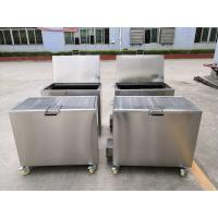 Buy cheap Kitchen Hood Stainless Steel Soak Tank Degreasing / Cleaning Insert Filters 110 / 230V 50Hz from wholesalers