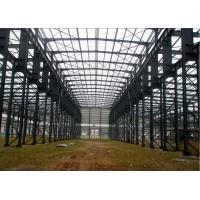 Modern Space Industrial Steel Structures H Type Columns And Beams Steel Structure Construction Manufactures