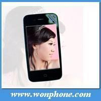 Buy cheap S4 Single sim card WIFI mobile phone with Dual cameras from wholesalers